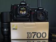 Nikon D700 Digital SLR Camera with Nikon AF-S VR 24-120mm lens