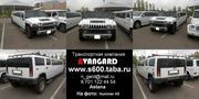 Аренда лимузина Hummer H2 белого цвета для свадьбы и других мероприяти