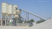 стационарный бетонный завод,  РБУ,  БСУ