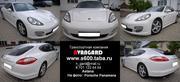 Аренда автомобиля Porsche Panamera белого цвета для любых мероприятий.