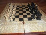 Продам нарды-шахматы ручной работы
