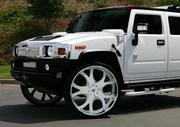 Прокат лимузина Hummer H2 белого,  черного цвета для свадьбы.