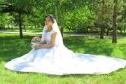 очень красивое свадебное платье на прокат.