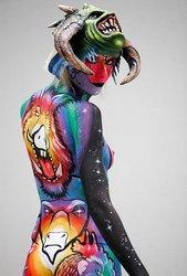 боди-арт, фейс-арт, аквагрим , художник по телу в Астане
