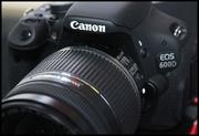 Срочно продам цифровой фотоаппарат Canon EOS 600D kit