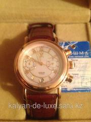 Продам мужские золотые наручные часы. Оригинал,  производство Россия