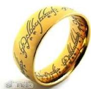 Кольцо Всевластия из к/ф «ВЛАСТЕЛИН КОЛЕЦ» и «ХОББИТ»