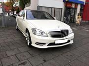 Mercedes-Benz S600 W221 c водителем. Аренда в Астане.