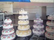 Торты свадебные на заказ,