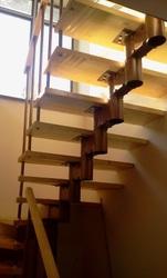 межэтажная модульная лестница