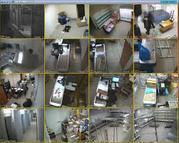 Монтаж, обслуживание, установка систем видеонаблюдения  домофонов