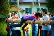 Тренинги по командообразованию (teambuilding,  тимбилдинг),  веревочные курсы