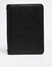 Утеряна черная кожаная папка с документами