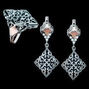 Ювелирные украшения из серебра оптом