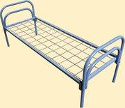 Металлические кровати эконом-класса для армии от производителя.