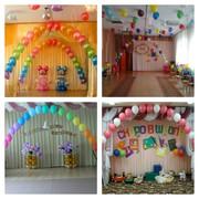 Гелиевые шары на заказ Оформление праздников воздушными шарами