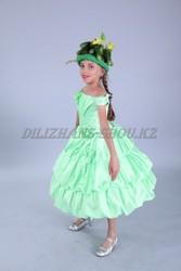 Карнавальный костюм «Огурец» для осеннего бала.