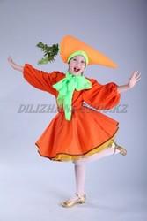 Карнавальный костюм «Морковь» для осеннего бала