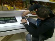 Монтаж кондиционеров в магазин