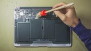 Чистка Macbook и Imac в apple-center