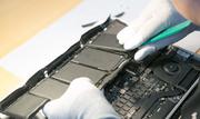 Замена батареи и жесткого диска на Macbook.