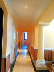 Покраска стен потолков  300тг. Поклейка обоев 350тг
