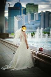 Роскошное свадебное платье!