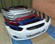 Бампер Hyundai Solaris,  Солярис новый
