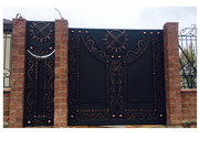 Ворота,  заборы металлические и кованные