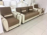 Новый диван с 2мя креслами - Ореон
