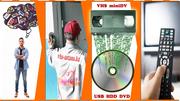 Перезапись видеокассет на DVD диски. Аппаратное улучшение качества,  монтаж и доставка БЕСПЛАТНО!!!