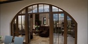 Дерево-алюминиевые окна из Сосны Тараз