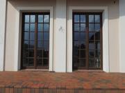 Дерево-алюминиевые окна из Лиственницы