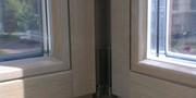 Дерево-алюминиевые окна из Лиственницы Шымкент