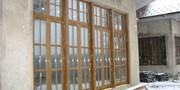 Дерево-алюминиевые окна из Дуба Кызылорда