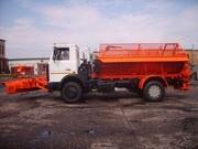 Пескоразбрасывающее оборудование на шасси а/м МАЗ 5337