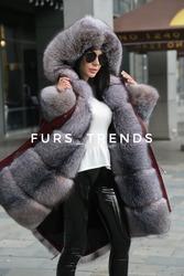 Пошив парок, шуб, жилетов с аукционного меха Saga Furs песец, лиса, норка