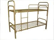 Армейские железные кровати 1, 2, 3хъярусные и кровати ДСП от производителя