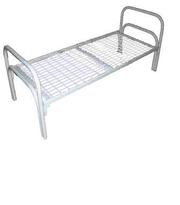 Кровати от производителя металлические одноярусные и двухъярусные опт