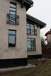 Дерево-алюминиевые окна из сосны с Европы Комирус Караганда
