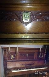 Продаю Антикварное Концертное фортепиано 1914 года в отличном  состоян