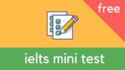 Пройди пробный IELTS тест: Готов ли ты сдать IELTS?