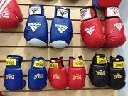 Боксерские перчатки детские кожа зам-новый