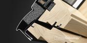 Классическое деревянное мансардное окно Velux Кокшетау