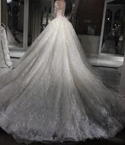 Шикарное свадебное платье ( бренд американский )