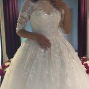 Продам красивое свадебное платье от казахстанского бренда Assylbridal