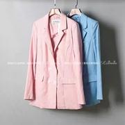 Пиджак в розовом цвете